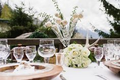 Rustic Winter Wedding Inspiration in The French Alps