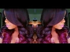 ISIS Red Carpet Lace Wig RCP297 Feather Flip 3!