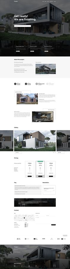 Propper - Architecture & Real Estate PSD Template • Download ➝…