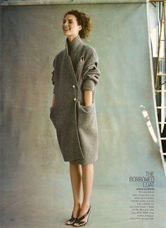 crushculdesac:    trankillement:The Looks ThatMattermagazine: Vogue US, July 2000 |photography: Michael Thompson |model: Shalom Harlow |styling: Grace Coddington