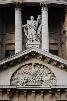 south entrance of st. paul london resurgam - Google Search