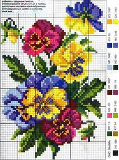 ideas embroidery flowers rose free pattern for 2019 Cross Stitch Bird, Cross Stitch Flowers, Cross Stitch Charts, Cross Stitch Designs, Cross Stitching, Cross Stitch Embroidery, Embroidery Patterns, Hand Embroidery, Cross Stitch Patterns