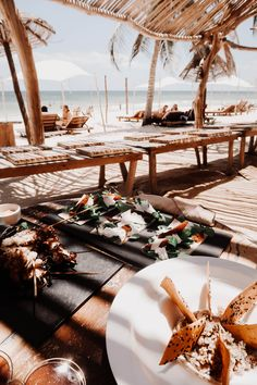 An Instagram Guide To Tulum - Fashion Mumblr Beach Town, Beach Club, Beach House, Coco Tulum, Fashion Mumblr, Beach Meals, Tulum Mexico, Travel Aesthetic, Table Settings