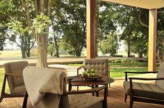 Golf club house. Hotel Fasano Boa Vista. Refined comfort meets country charm. By Hotelied.