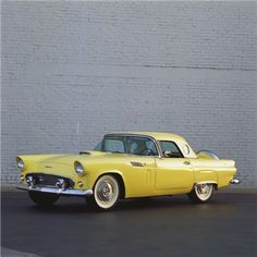 Ford Thunderbird Convertible Coupe, 1956