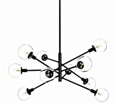 post modern industrial chandelier