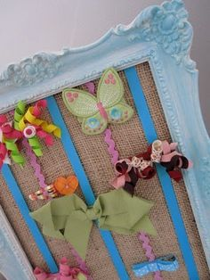 picture frame bow holder - Bing Images