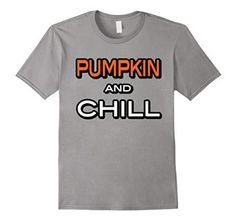 Amazon.com: Pumpkin and Chill Funny Halloween Parody T Shirt: Clothing Netflix and Chill Parody for Halloween! Pumpkin orange halloween.