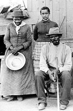 Library of Congress photo showing Harriet Tubman, adopted daughter and husband Nelson Davis, formerly of the 8th USCT of Camp William Penn, located in Cheltenham Twp.