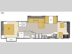 Floorplan - 2016 Coachmen RV Sportscoach Cross Country SRS 360DL