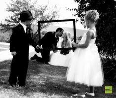 Precious wedding picture