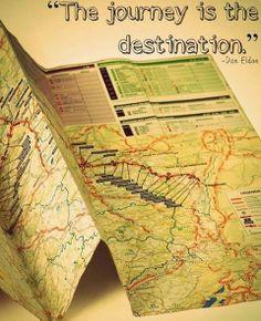"So true! ""The journey is the destination."" ~ Dan Eldon #quote"