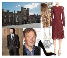 """""""(READ) Princess Alexandra and Thomas Fitzalan-Howard, 18th Duke of Norfolk interview with Tom Bradby to ITV News"""" by alexandraofwales ❤ liked on Polyvore featuring Belpearl, Oscar de la Renta and Christian Louboutin"""