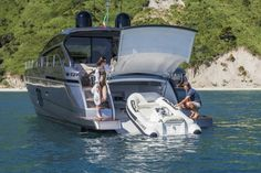 Pershing 62...When your boat has it's own boat you know your too rich