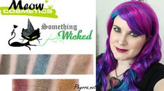 Meow Cosmetics Something Wicked Review and Video and Swatches