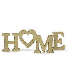 Letras decorativas de madera HOME (Otros complementos) - Sillas de diseño, mesas de diseño, muebles de diseño, Modern Classics, Contemporary Designs...