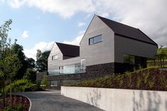minimalistische Architektur - Fassade