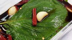 양념장 비율이 핵심! 맛있는 깻잎장아찌 만들기 Korean Menu, Korean Food, Salad Recipes, Keto Recipes, Cooking Recipes, Korean Side Dishes, Asian Snacks, Food Menu, Kimchi