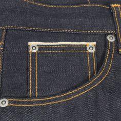 Nudie Jeans Online | Steady Eddie Indigo Dry Selvage Jeans