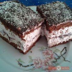 Kinder pingui receptje – ez a mennyország! Garlic Pasta, Garlic Chicken, Hungarian Recipes, Hungarian Food, Something Sweet, Cakes And More, Tiramisu, Deserts, Paleo