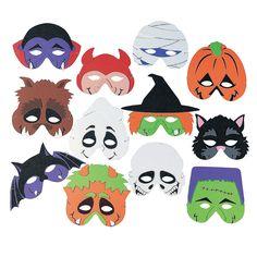 Monster Masks - OrientalTrading.com