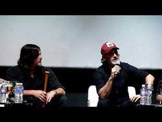 THE WALKING DEAD EURO TOUR   LISBOA (Rick, Daryl Dixon, Negan, Greg Nicotero) - YouTube