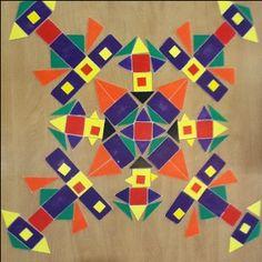indianen mozaiek