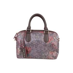 Sisley Claret  Boston Handbag
