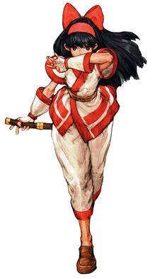 Nakoruru (Samurai Shodown) - Pictures & Characters Art - Capcom vs. SNK
