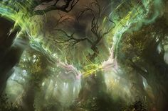 El origen de Nissa: El hogar | MAGIC: THE GATHERING