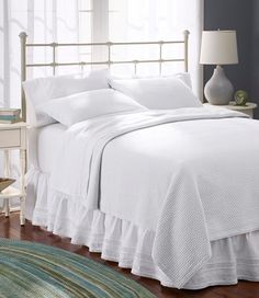 Honeycomb Matelass Bedspread | Free Shipping at L.L.Bean