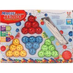 Magic Beads golyós építőjáték