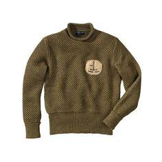 Pullover Espoir Perdu, authentisch, rugged, Used-Look Vorderansicht