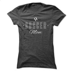 Soccer Mom T-Shirt - #plaid shirt #sweater tejidos. GET YOURS => https://www.sunfrog.com/Sports/Soccer-Mom-T-Shirt-Ladies.html?68278