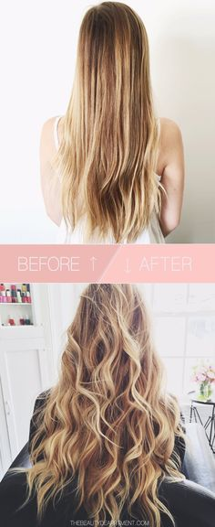 HOW TO CREATE THICKER LOOKING HAIR