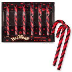 Krampus Candy Canes