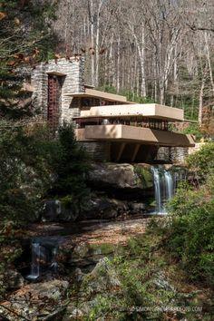 Fallingwater | Casa de la Cascada Fotografía de arquitectura · Architectural photography | www.arqfoto.com © Simon Garcia