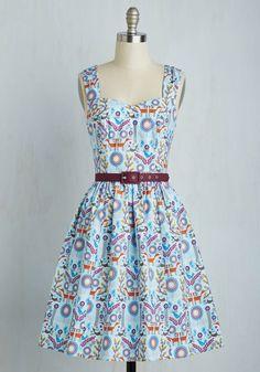 Hand in Handicraft Dress, #ModCloth