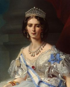 Princess Tatiana Alexandrovna Yusupova, wife of Prince Nikolai Borisovich Yusupov, wearing the Yusupov Lover's Knot Tiara, Russia (19th c.; pearls, diamonds).