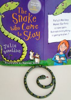 "The Snake Who Came to Stay ""In order to help young readers the children's novel is intentionally divided into short chapters. Understanding of the story line is helped with lots of illustrations. It's also printed on cream colored paper which minimizes glare with a special dyslexic-friendly font."""