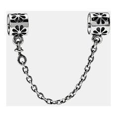 PANDORA Daisy Safety Chain (2.740 RUB) ❤ liked on Polyvore featuring jewelry, silver, chain jewelry, pandora jewellery, pandora jewelry and daisy jewelry