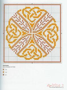 Celtic Knot Sewing Set • 7/7 Pincushion Chart