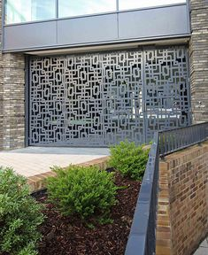 View our latest laser cut doors and laser cut gate applications including security panels, external gates and framed, pocket, bifold and roller doors. Laser Cut Screens, Laser Cut Panels, Laser Cut Metal, Laser Cutting, House Outer Design, House Outside Design, Front Gate Design, Door Design, Metal Walls
