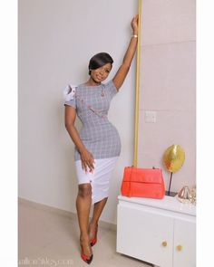 Monday Slay n The Most Gorgeous Corporate Styles Corporate Wear, Corporate Fashion Office Chic, Classy Work Outfits, Chic Outfits, Fashion Outfits, Fashion Fashion, Workwear Fashion, Fashion Blogs, Winter Fashion
