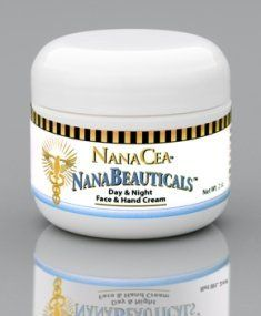 NanaCea NanaBeauticals Day & Night Face & Hand Cream 2oz by Patty McPeak by NanaCea. $24.95. Over 120 Antioxidants. Colloidal Silver, Emu Oil, Sea Silver. Rice Bran Oil enhanced with Tocotreniols. Day & Night Cream for Face & Hands. Natural Ingredients. NanaBeauticalsTM Cream is the ultimate natural health cream. It provides moisture, nutrition and healing for your skin, the largest organ of your body. We formulated this cream to rejuvenate and protect your skin with ov...