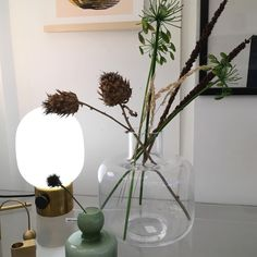 A beautiful minimalist vase with a narrow stem from Marimekko. This clear Ming vase is made from mouth-blown glass, designed by Carina Seth Andersson Marimekko, Glass Vase, Minimalist, Fan, Beautiful, City, Design, Home Decor, Decoration Home