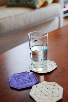 DIY Coasters - Felt