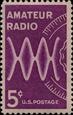 Amateur Radio Stamp! We need a new one. Over 719,000 Hams out there.