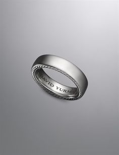 6mm Streamline Band Ring | Men Rings | David Yurman Official Store