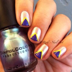 """""""Let Me Go"""" by Sinful Colors #nails #ruthsnailart #nailart"""